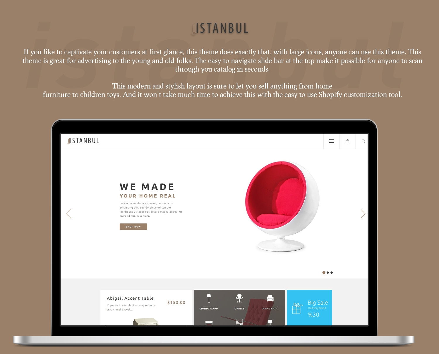 Istanbul Shopify Theme example image 3