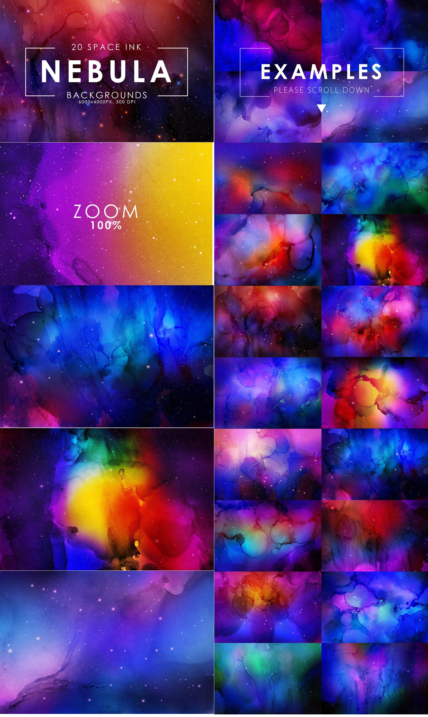Aesthetic Backgrounds BUNDLE example image 12