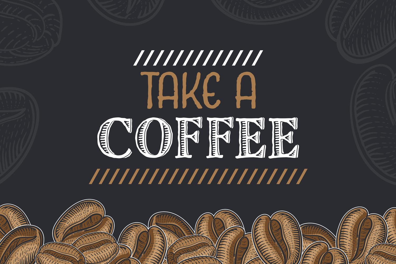 15 designs - Coffee restaurant brochure vector, coffee shop example image 3