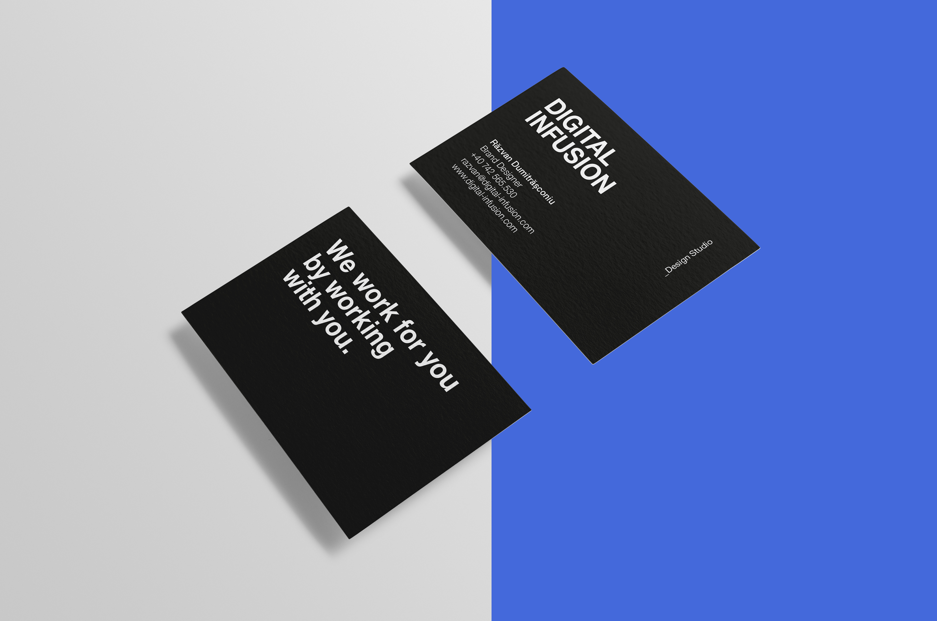 Clean & Modern Business Cards example image 4