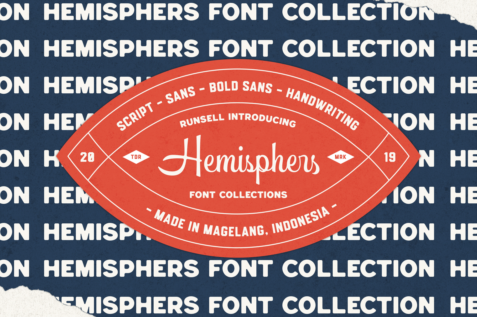 Hemisphers Font Collection example image 5
