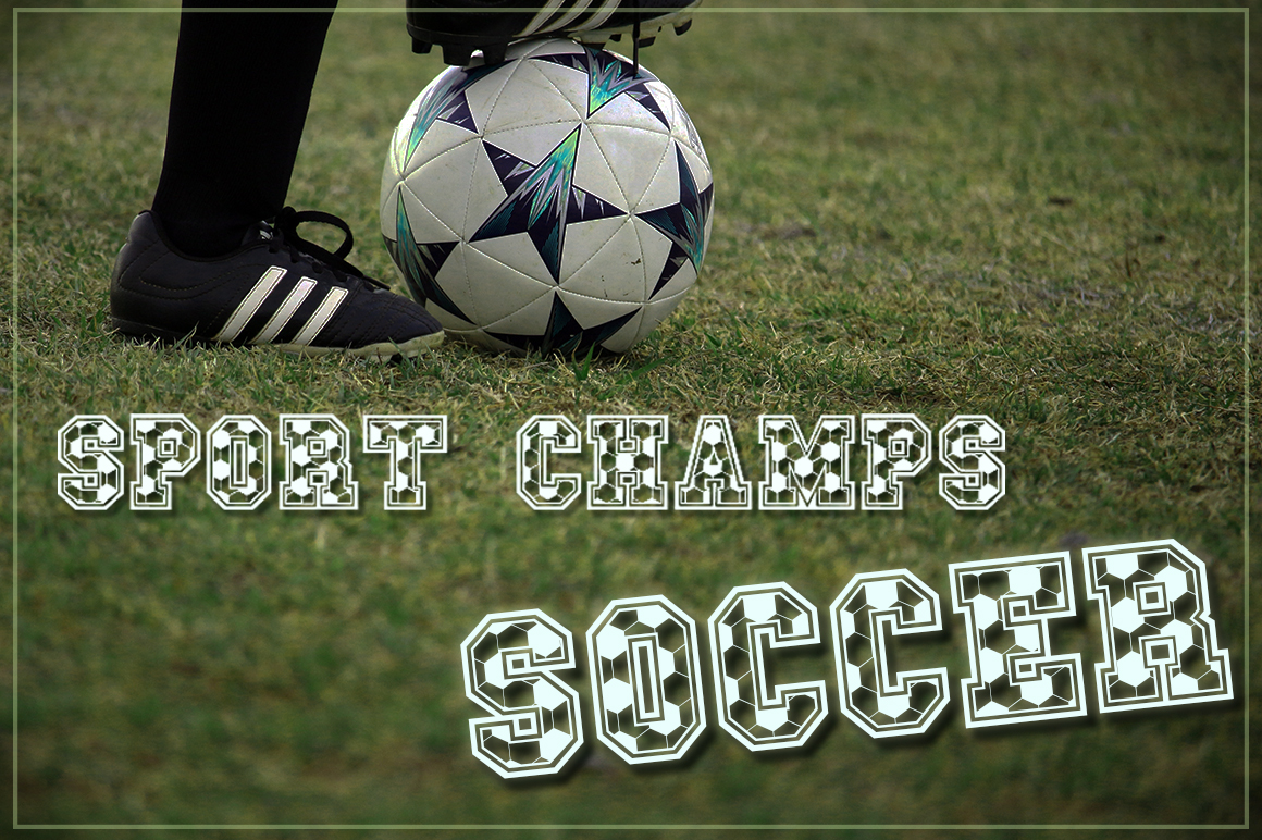 The Sport Champs Font Pack example image 21