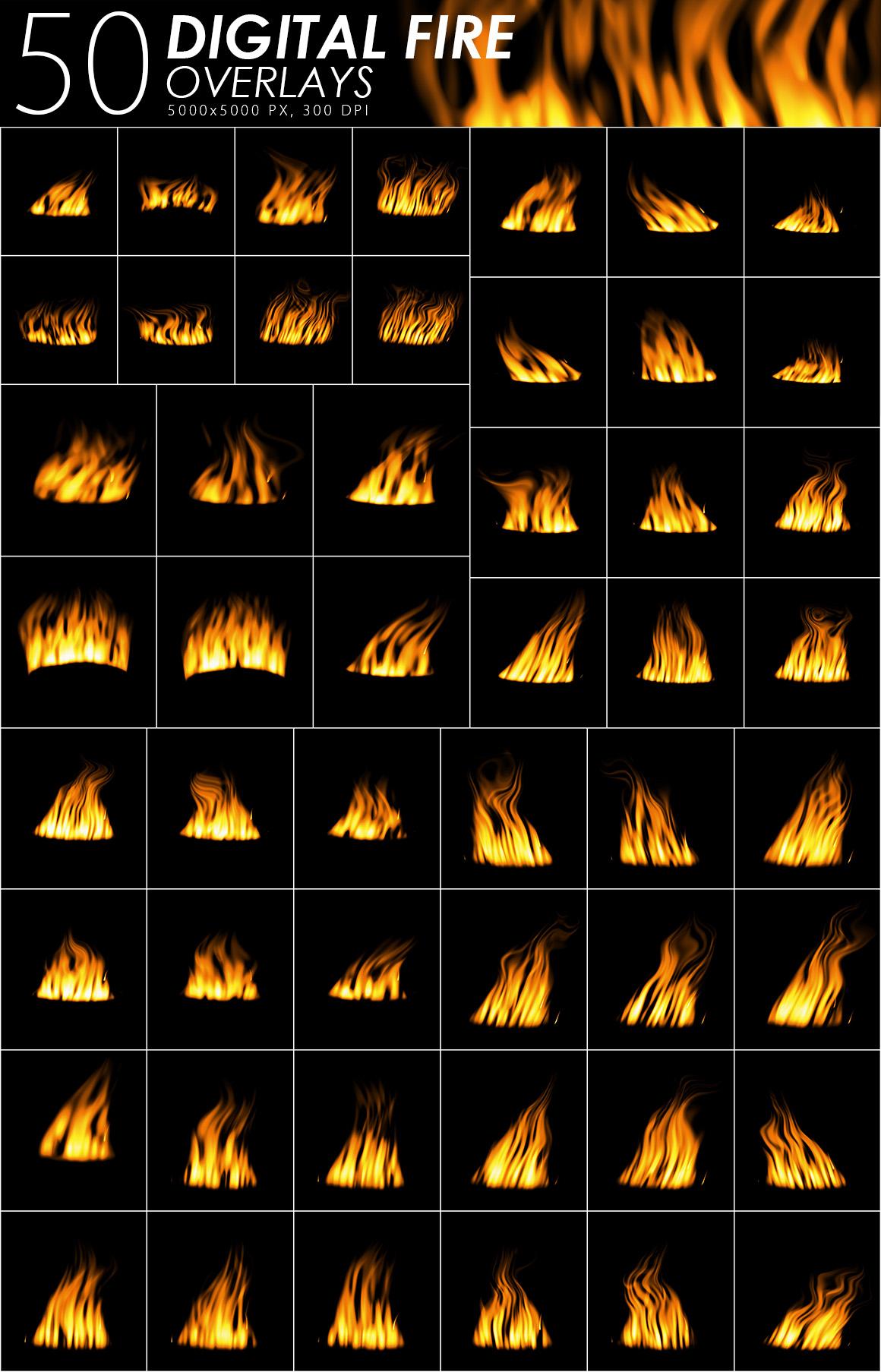575 Fire, Smoke, Fog Overlays example image 4