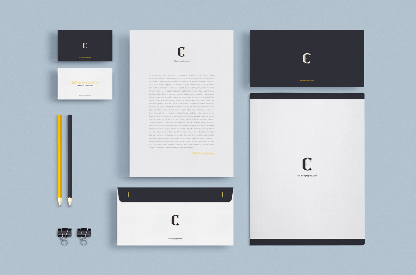 Stationery & Branding Mockups example image 2