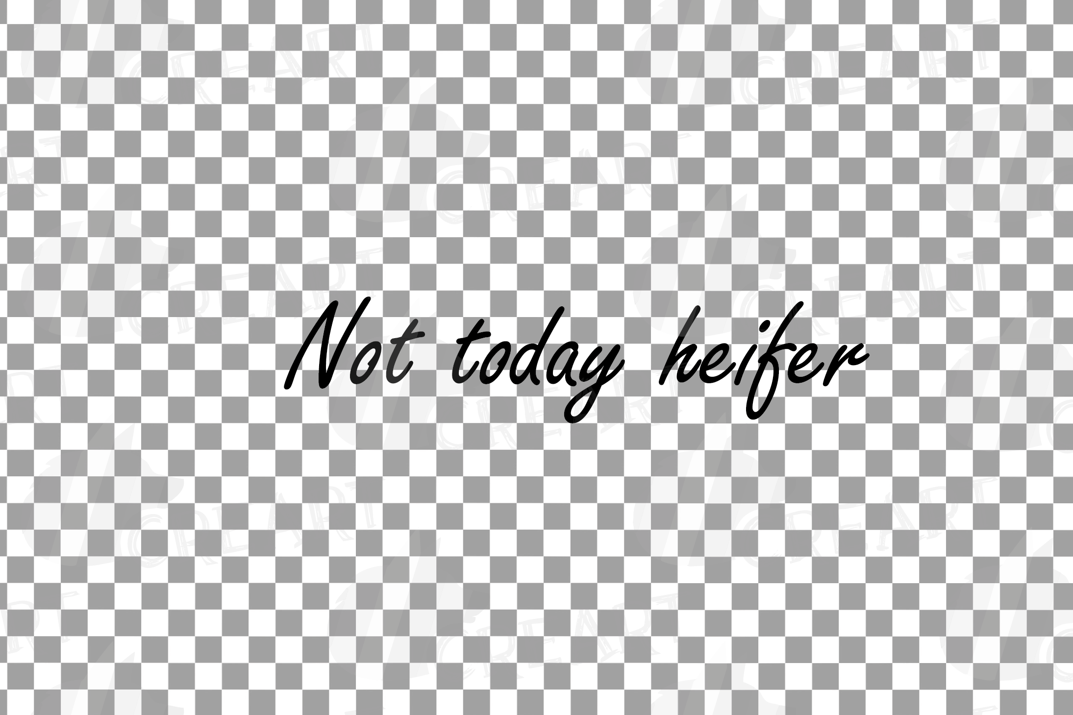 Not today Heifer printable floral burgundy decor, floral cow example image 7