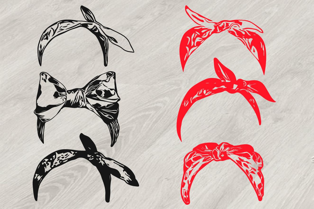 Bandana Mask Svg Wild West Western Scarf 809s