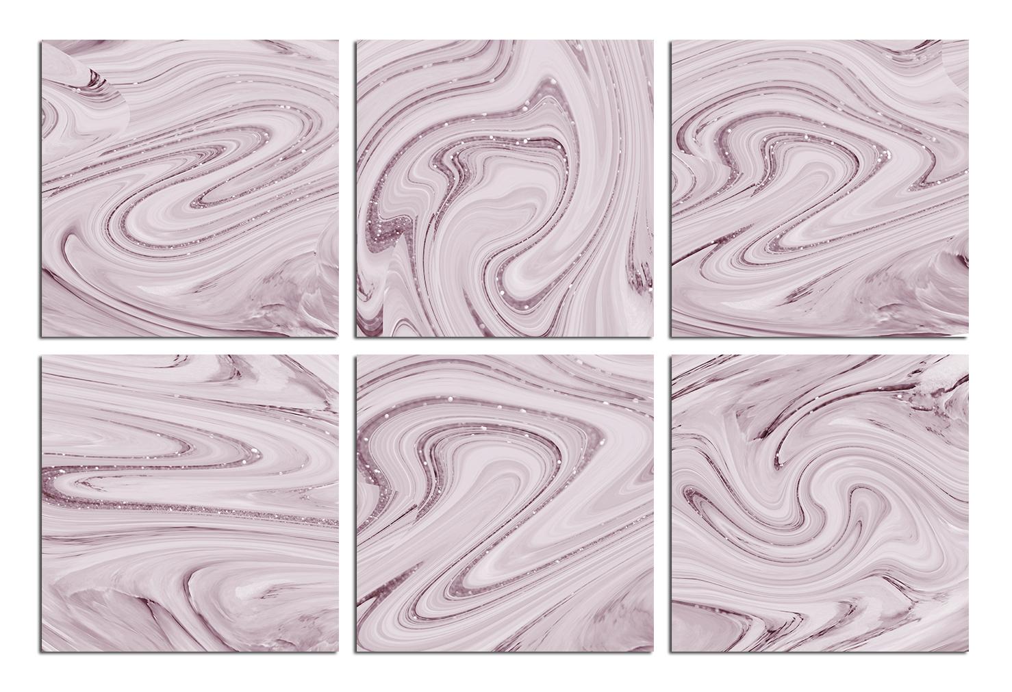 Rose Marble Digital Paper BUNDLE example image 11