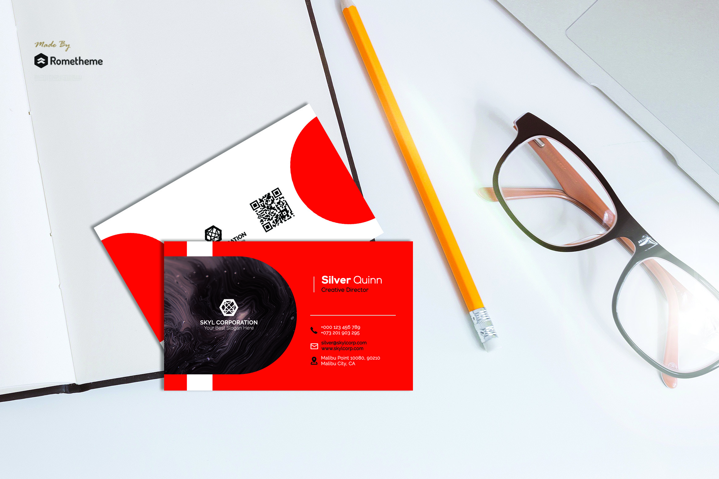 Business Card vol. 12 example image 1