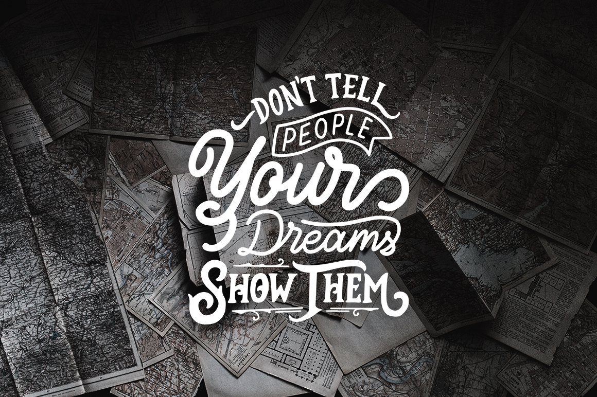 Inspirational Quotes Lettering example image 5