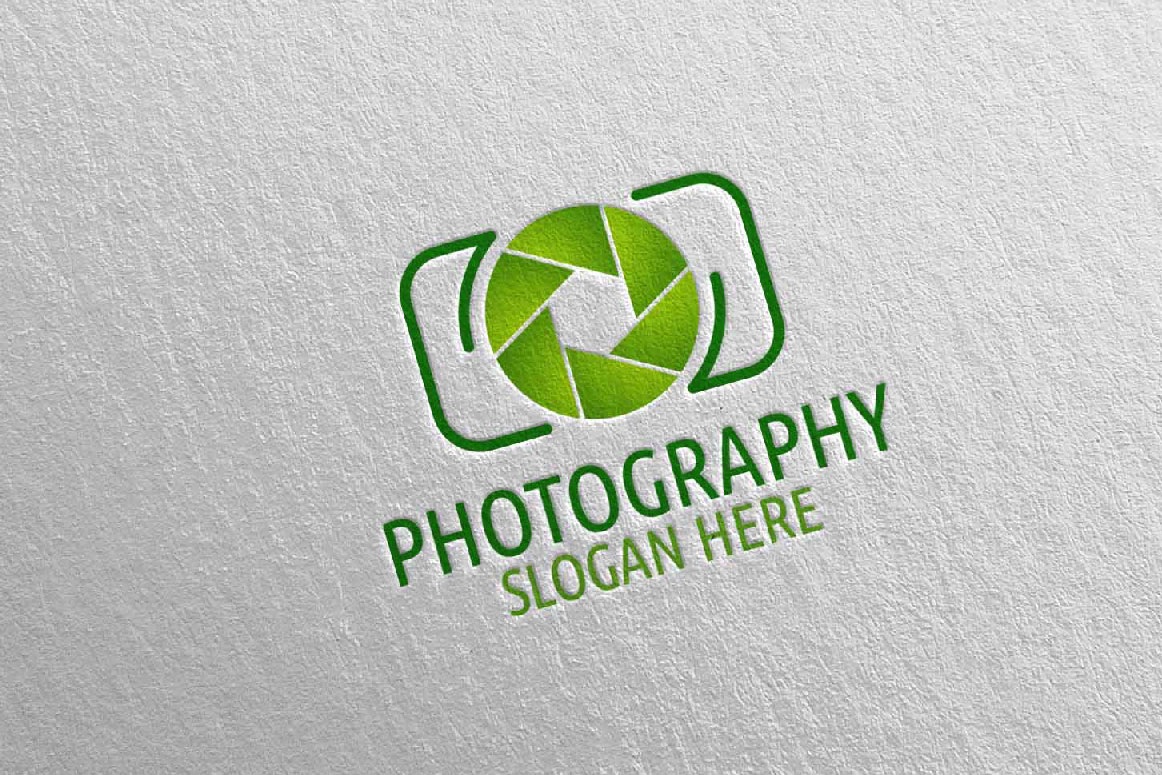Abstract Camera Photography Logo 2 example image 5
