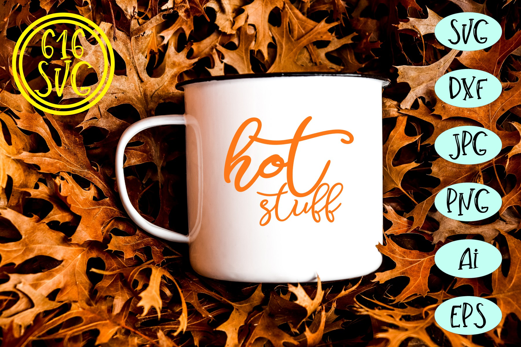 Coffee and Tea Bundle SVG, DXF, Ai, PNG example image 10