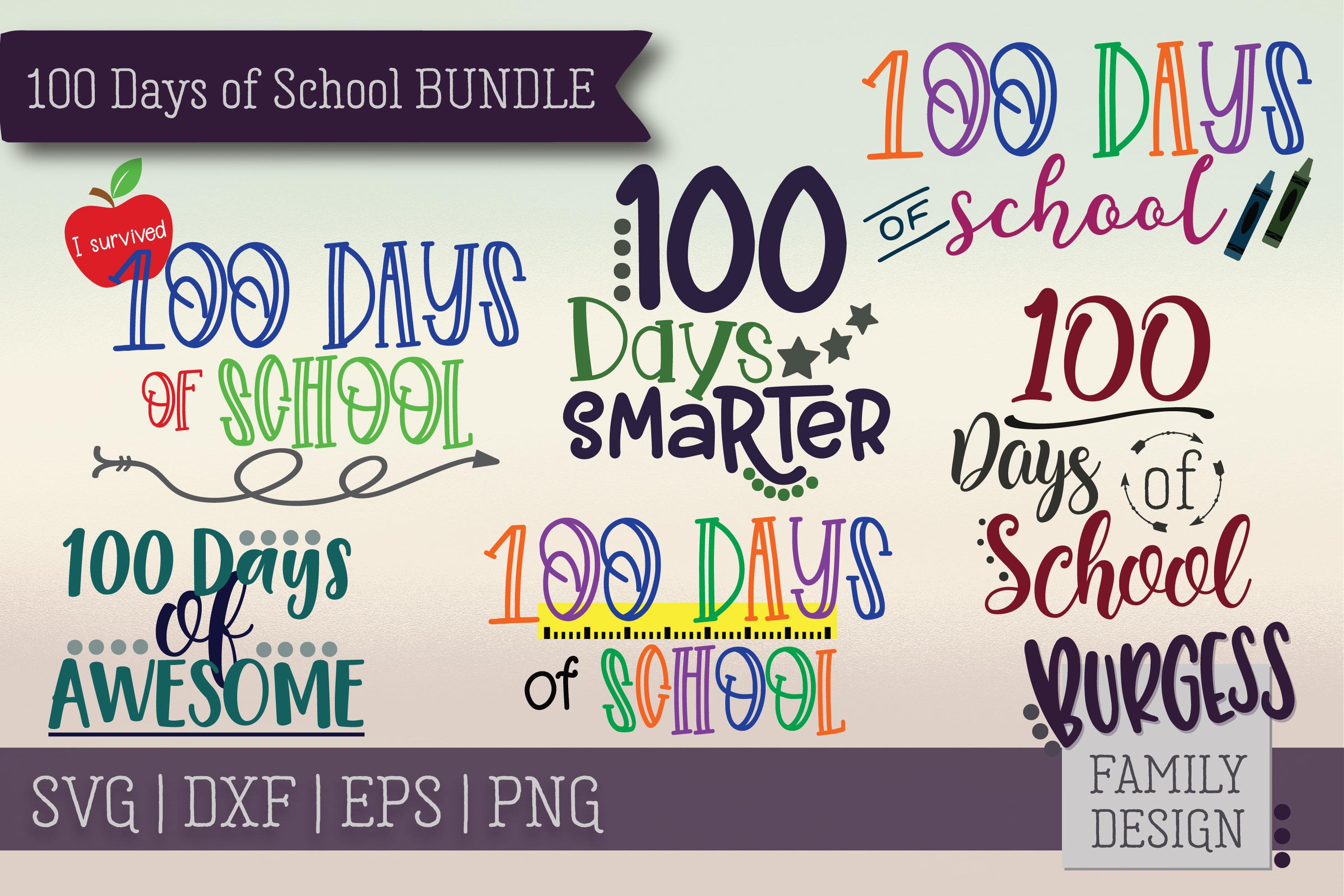 The starter bundle - Over 200 Designs | SVG DXF EPS PNG example image 6