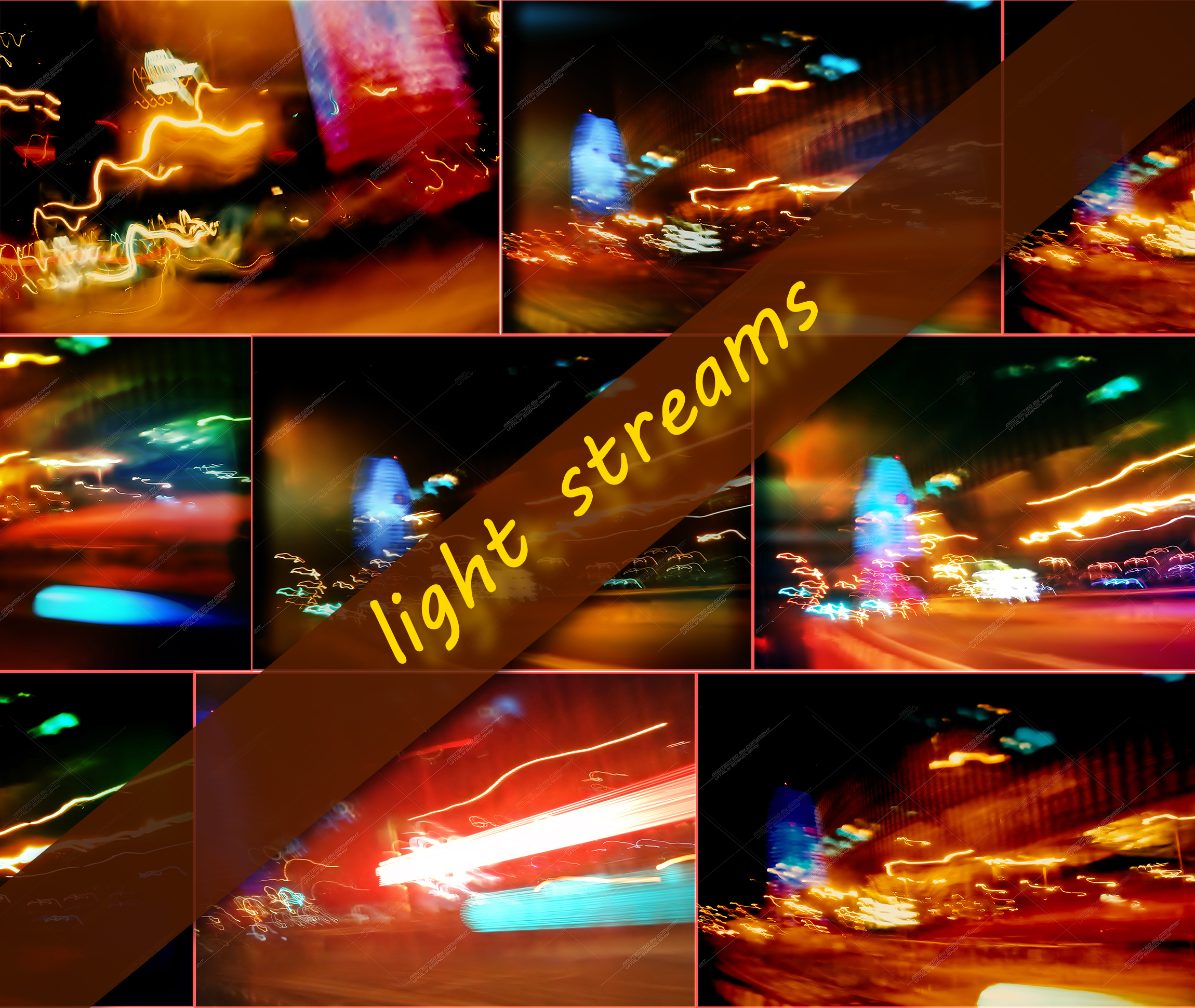 8 files abstract backgrounds from light streams example image 1
