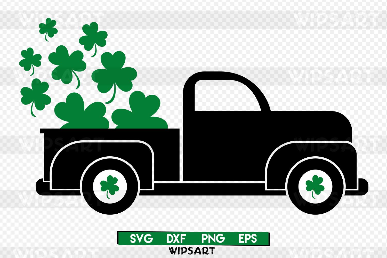 SALE! Saint patricks day svg, saint patrick's day, truck svg example image 1