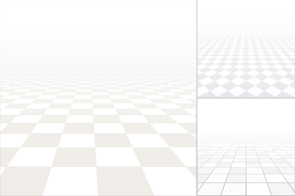 Tiled floor with perspective. example image 2