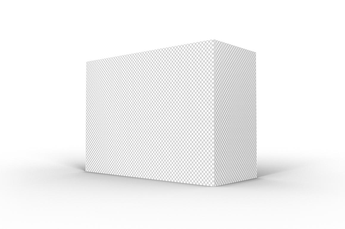 7.5.3 Simple 3D Box Mockup PSD example image 2