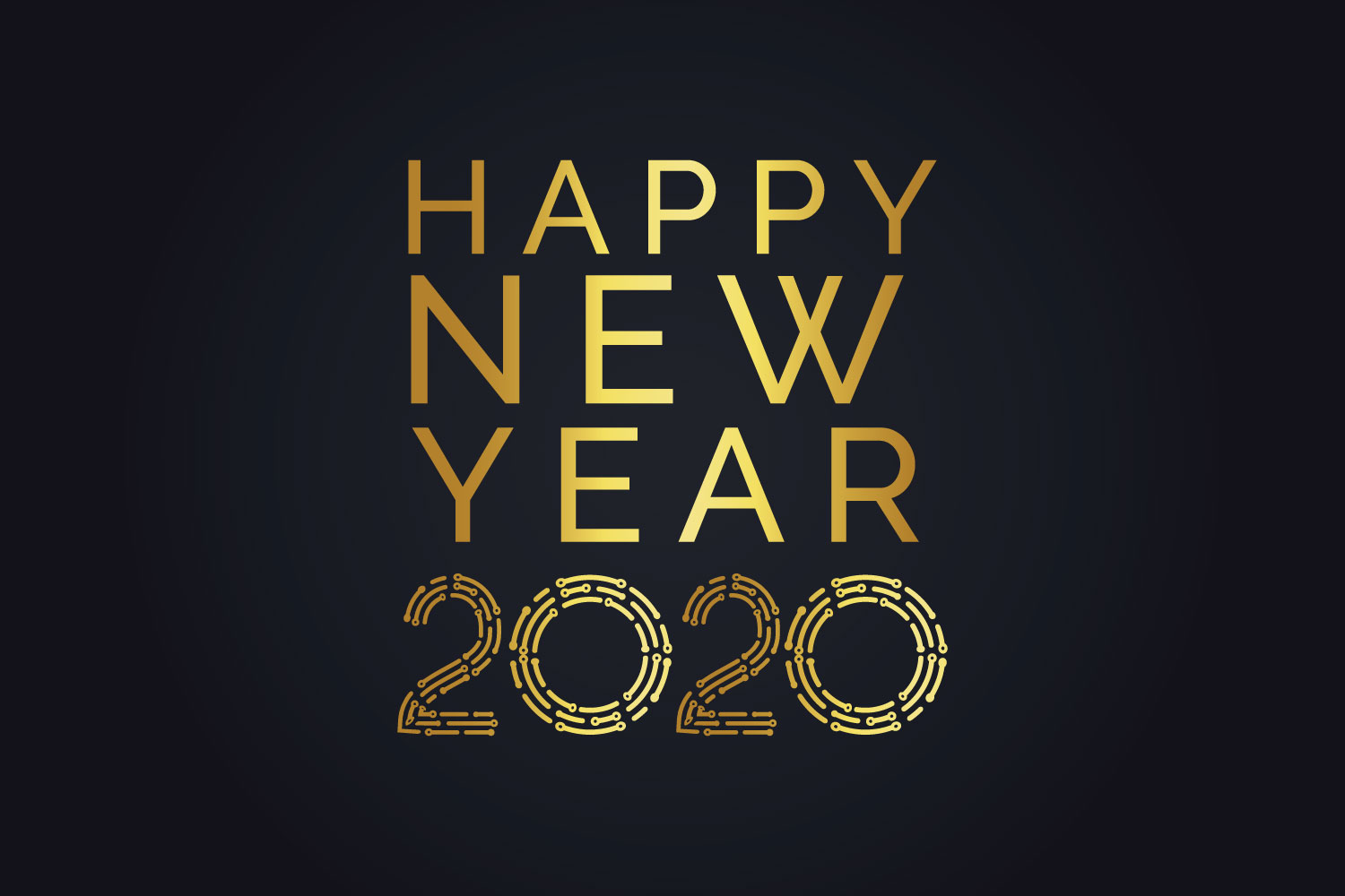 Happy New Year 2020. svg, dxf, pdf, jpeg, png file example image 1