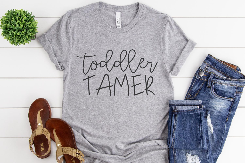 Kids - Chaos - Mom - Toddler Tamer SVG example image 2