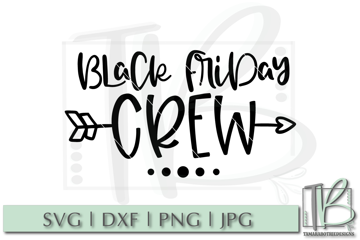 Black Friday SVG File, Black Friday Crew SVG example image 2