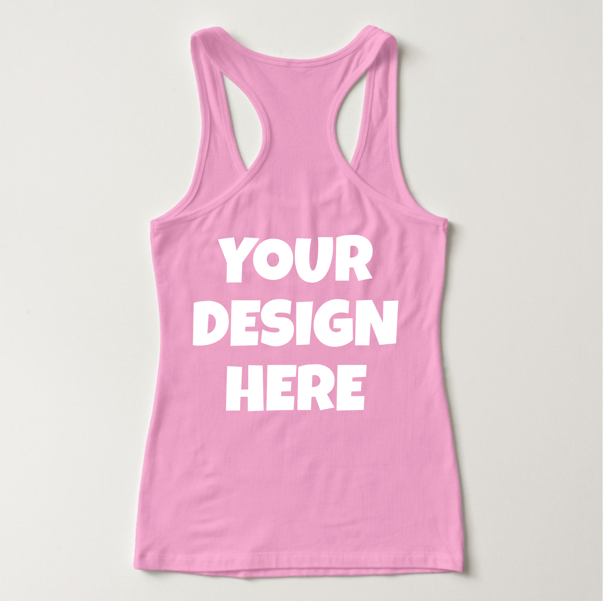Ladies Tank Top Mockups - 20|Front/Back|PNG example image 10
