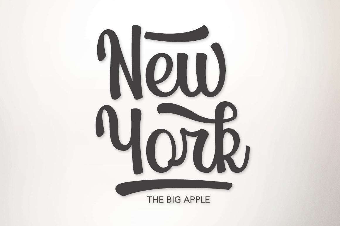 Largus Typeface example image 4