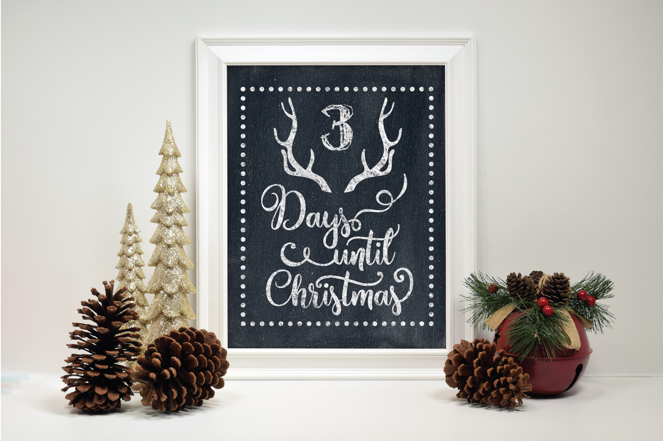 Christmas SVG Bundle with 10 Christmas Countdown Cut Files example image 4