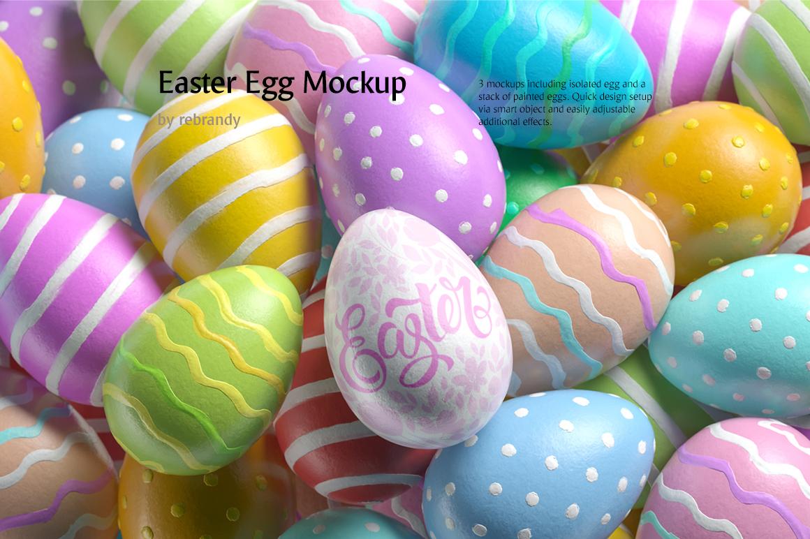Easter Egg Mockup example image 1