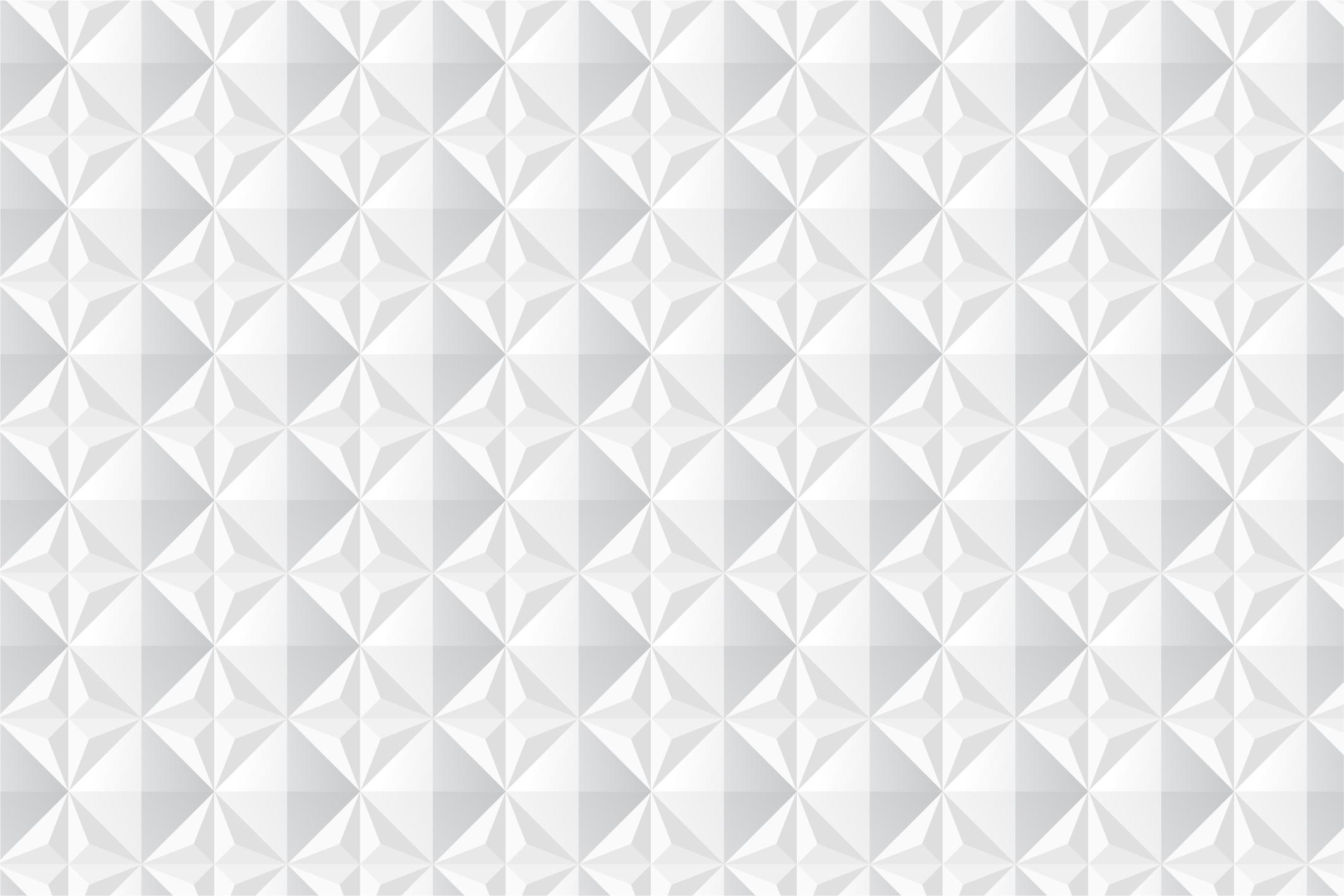 White geometric 3d seamless textures example image 10
