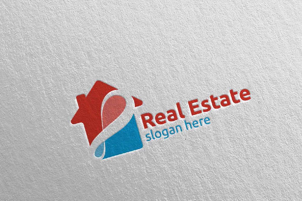 Real Estate Infinity Logo Design 40 example image 2