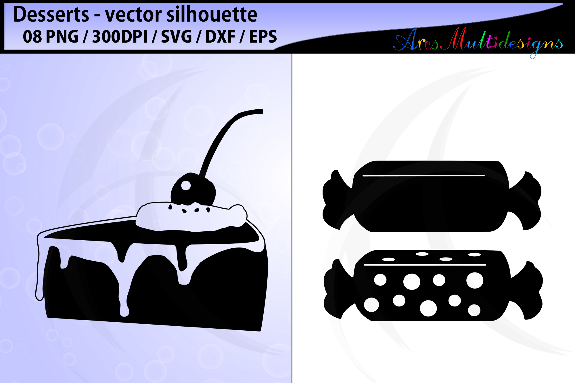 desserts vector svg silhouette example image 4