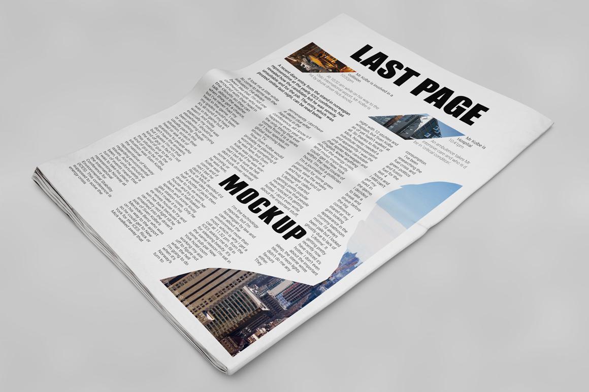 Newspaper Mockup example image 11