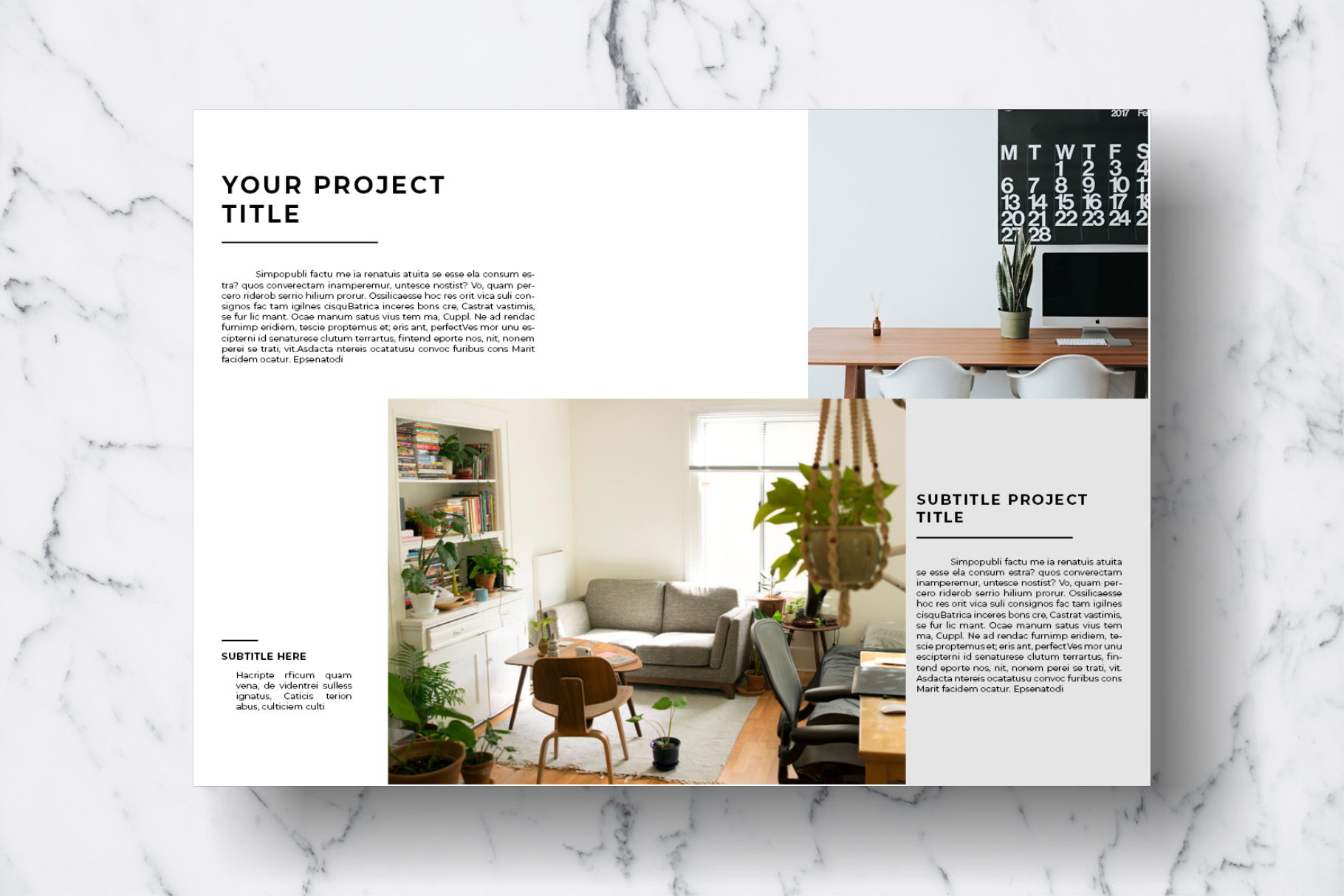Magazine Template Vol. 11 example image 3