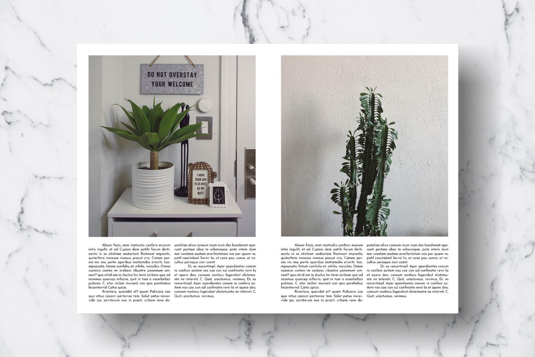 Magazine Template Vol. 17 example image 11