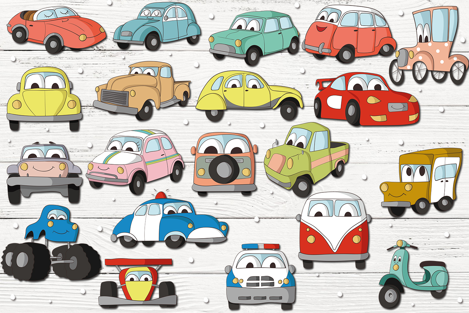 Car Characters example image 2