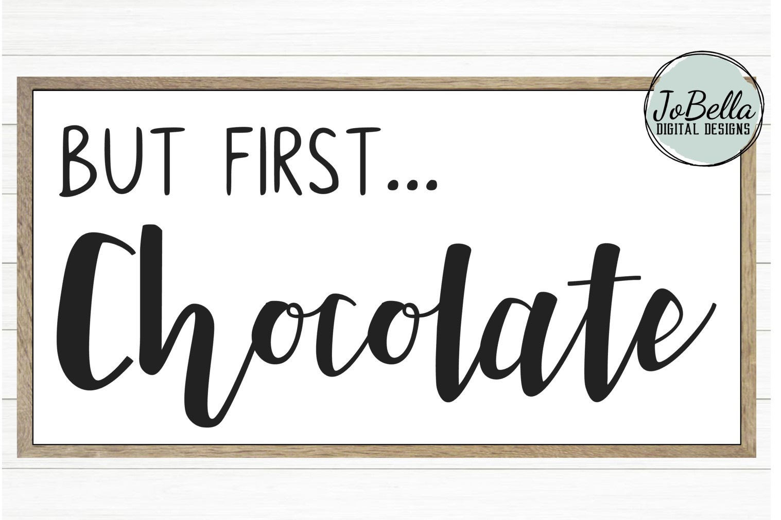 But First Chocolate SVG and Printable example image 2