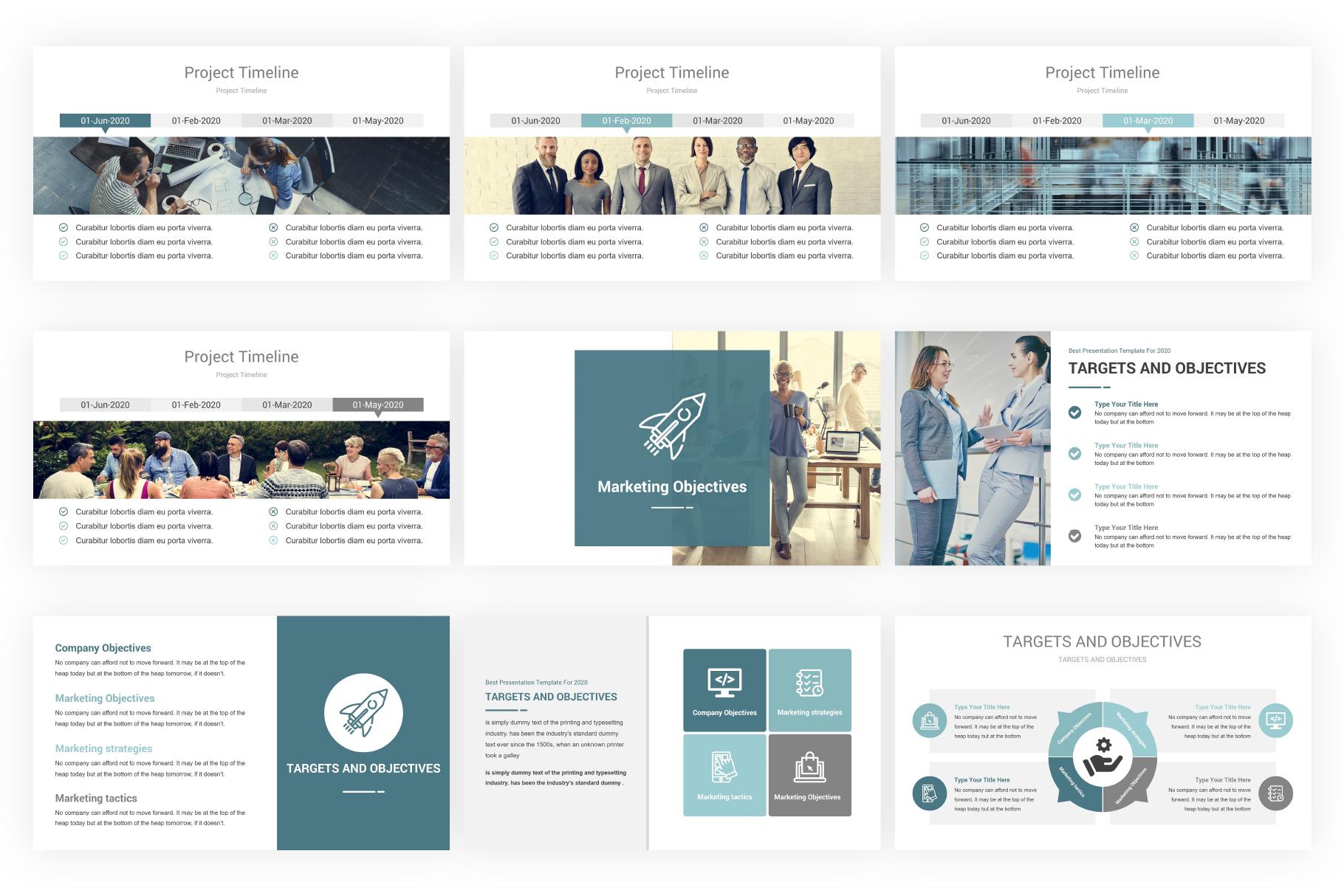 Marketing Plan PowerPoint Presentation Template example image 6