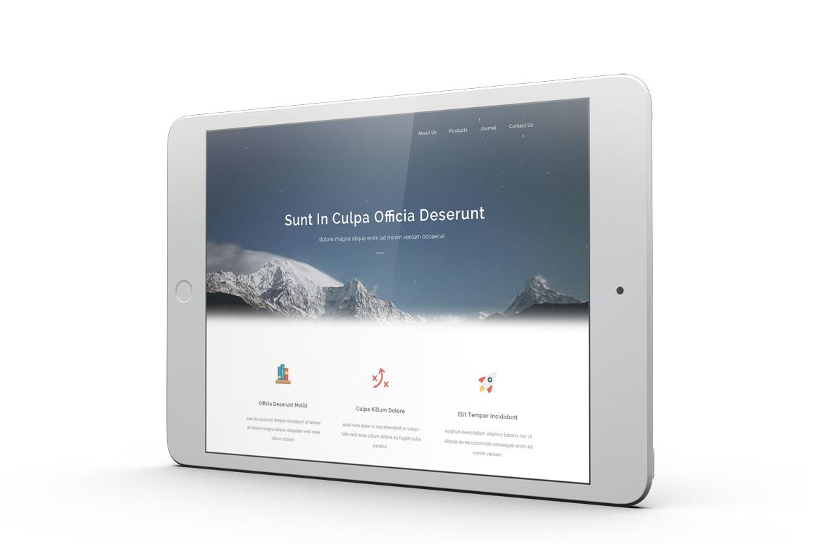 iPad Mini 4 Mockup example image 5