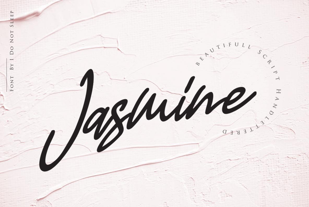 Jasmine Luxury Handwriting example image 2