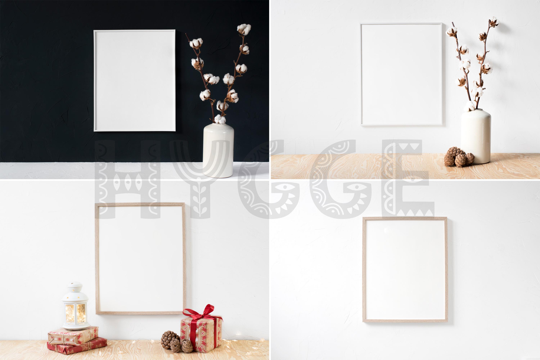 Frame Mockup Bundle, Minimalist Frame Mockup, Poster Mockup example image 3