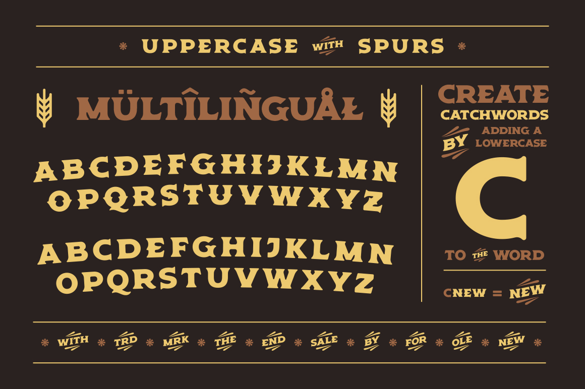 Old Spirits Display Font example image 3