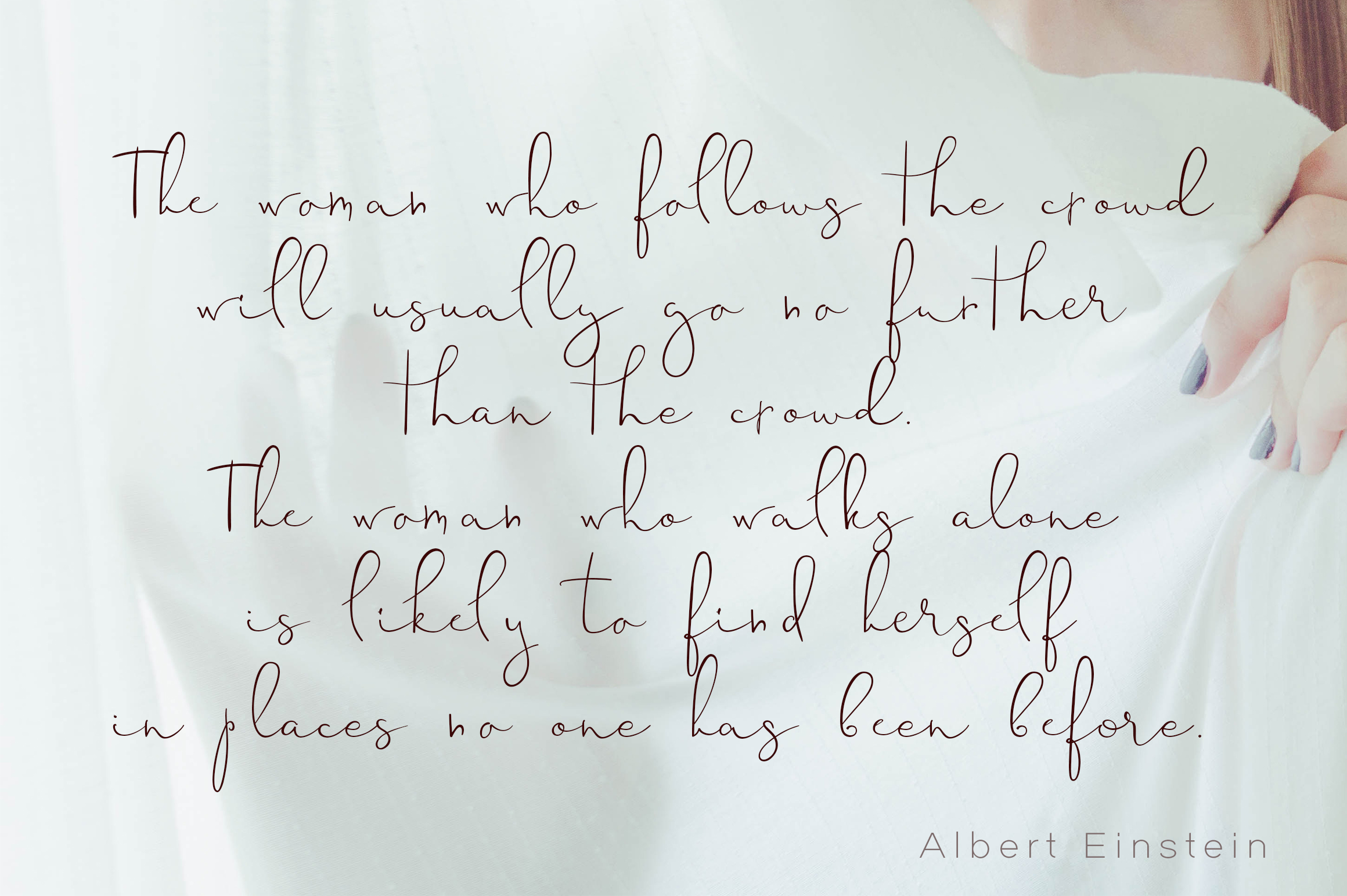 Sinali - handwritten calligraphy font example image 4