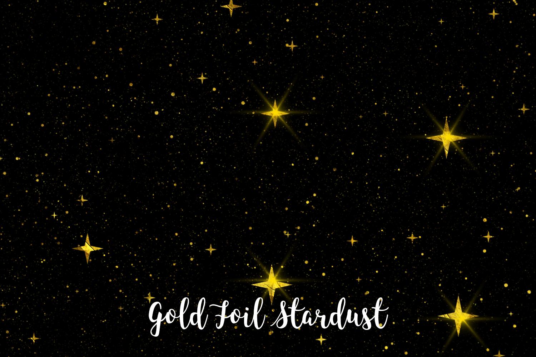 Gold Foil Stardust, Transparent PNG example image 6