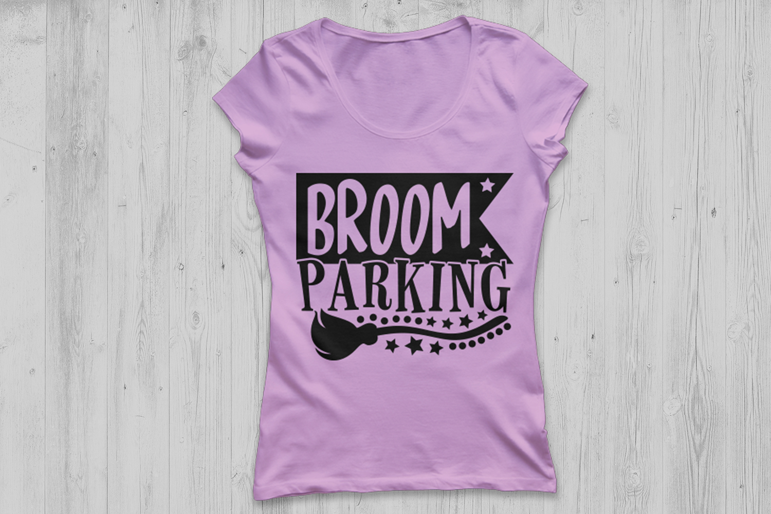 Broom Parking Svg, Halloween Svg, Witch Svg, Witch Broom Svg example image 2