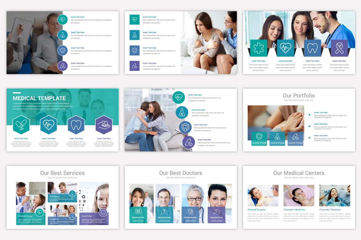 Medical Keynote Template Solutions example image 9