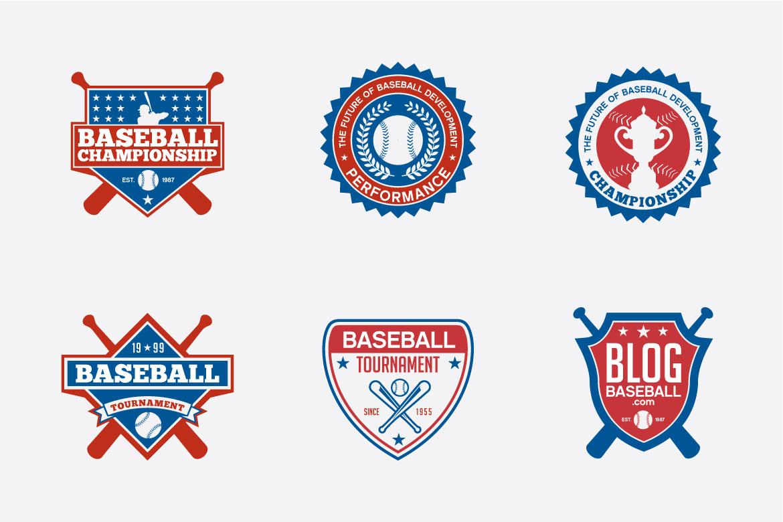 173 Sports Badges and Logo Bundle example image 3
