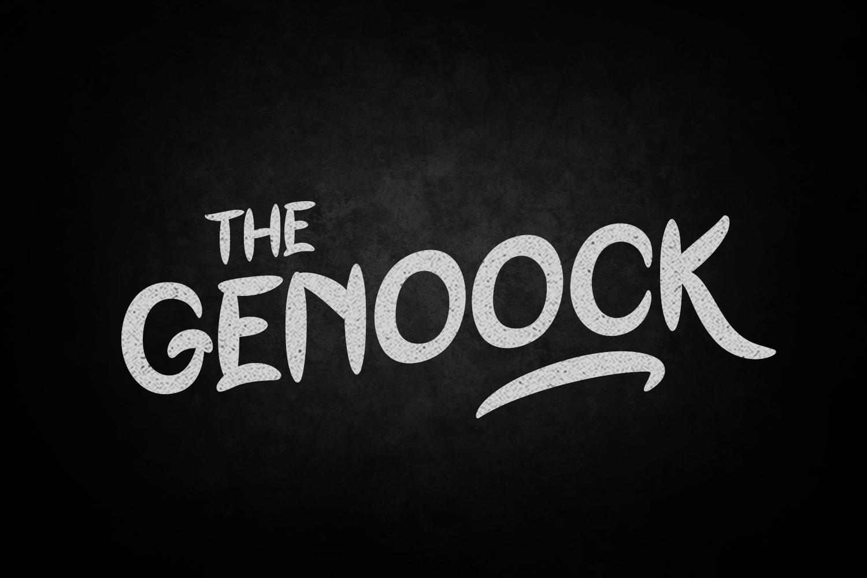 Genoock Typeface example image 1