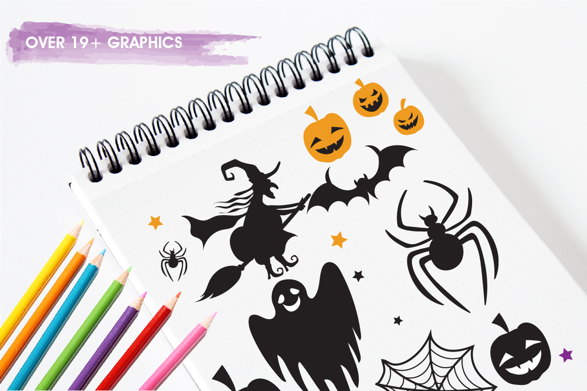 Halloween Fun graphics and illustrations example image 3