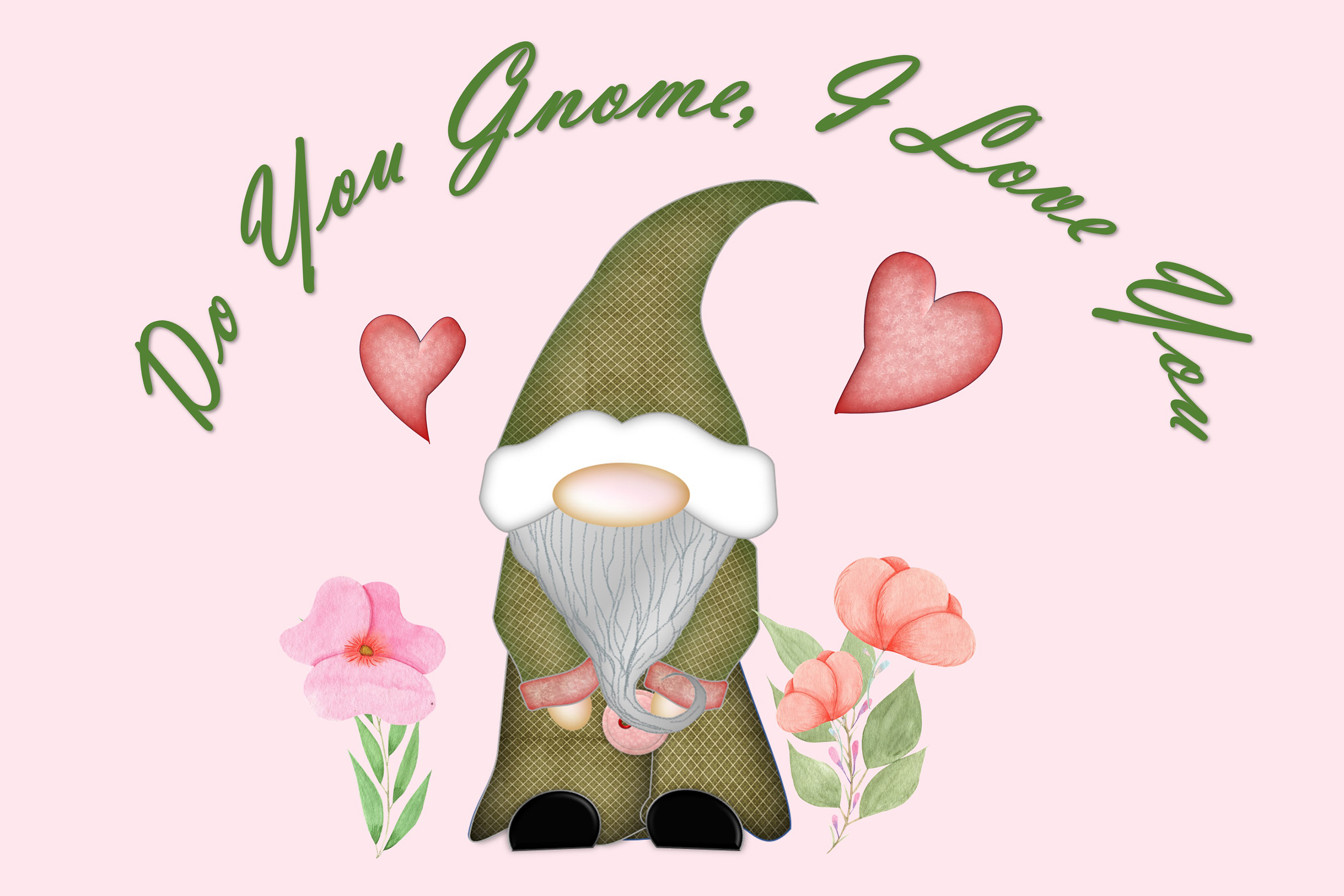 Scandinavian Gnomes Clipart, Sublimation, PNG, SVG and JPEG example image 5