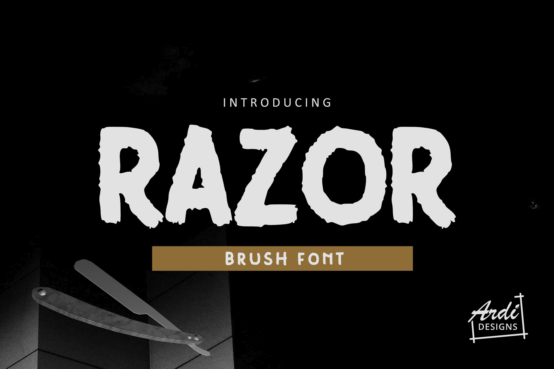 Brush Font Bundle example image 3