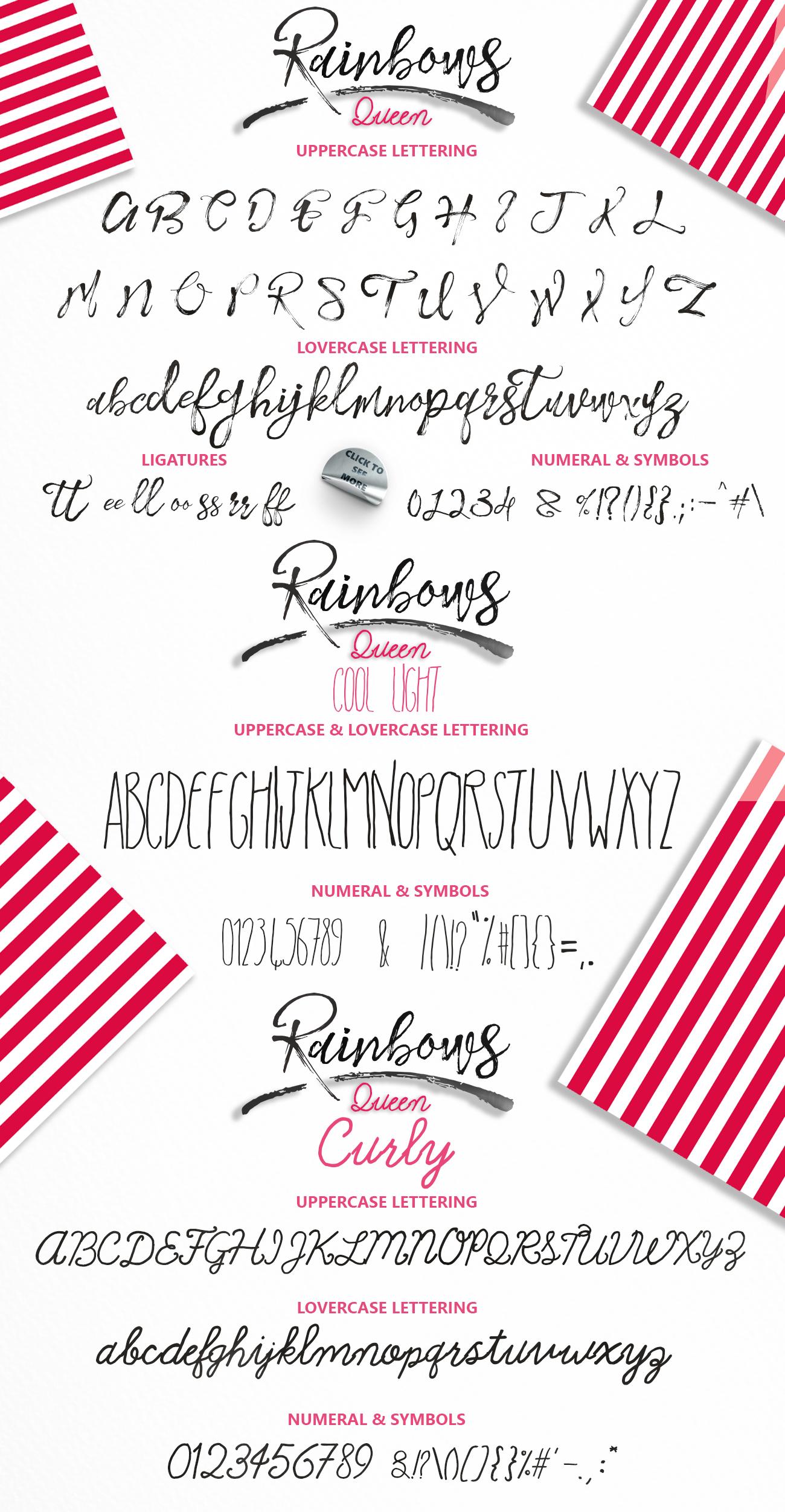 Rainbows & Extras example image 12